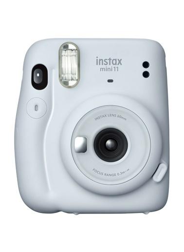 Instax Instax Mini 11 Beyaz Fotoğraf Makinesi Ve Jean Çantalı Hediye Seti 3 Beyaz